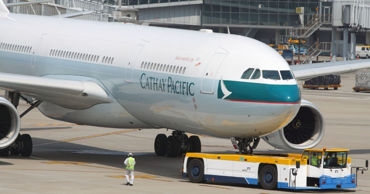 Cathay Pacific Suspends Flights To Seven Routes