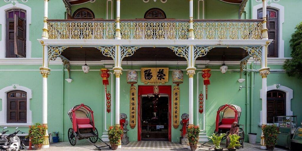 Pinang Peranakan Museum. Photo by Supanut Arunoprayote