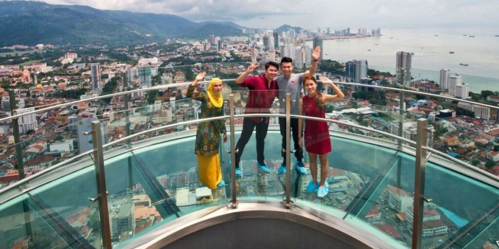 Things To Do In Penang - The Top at Komtar