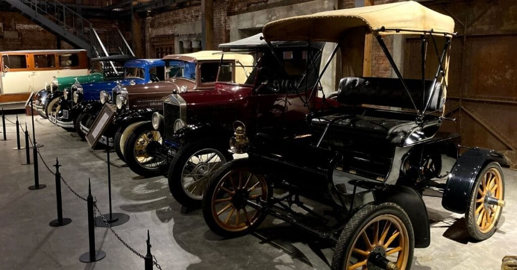 Glion Car Museum - T-Ford
