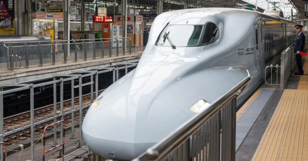 Bullet Trains are fast, clean, and convenient.
